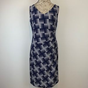 Anne Klein A-Line Career Dress Sz 12